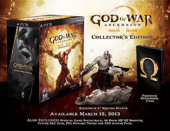 God Of War Ascension Collectors Edition - Ps3