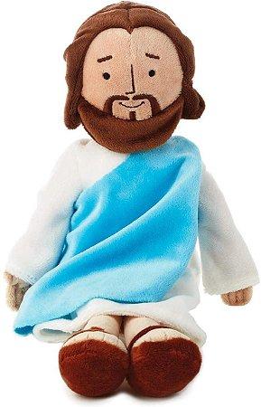 Pelúcia My Friend Jesus Cristo Hallmark 33cm