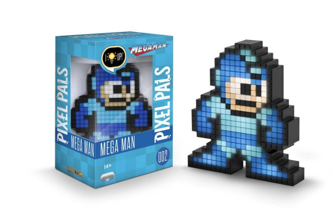 PDP Pixel Pals Capcom Mega Man Collectible Lighted Figure