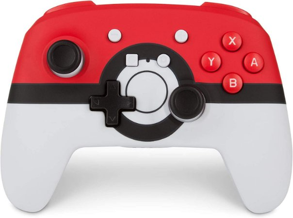 Controle S/ fio PowerA Enhanced Wireless Pokemon Pokeball - Switch