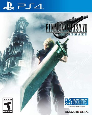 Final Fantasy VII Remake Edição Steelbook - PS4