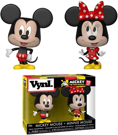 Funko Vynl Disney 90 Years Mickey + Minnie Mouse 2pack