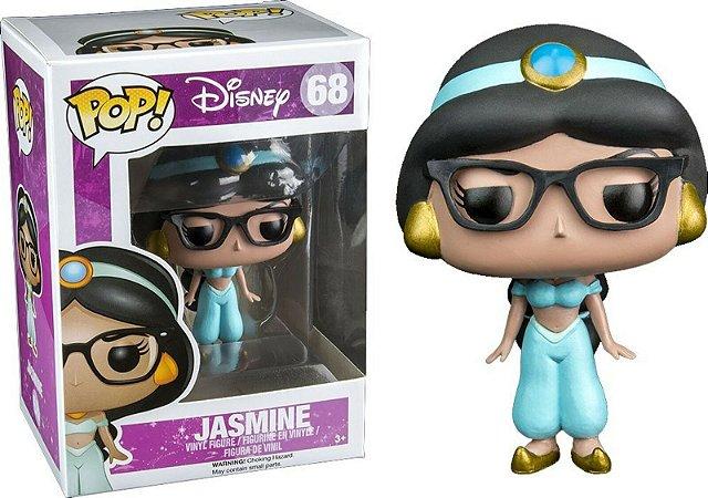 Funko Pop Disney 68 Jasmine Nerd W/ Glasses Exclusive