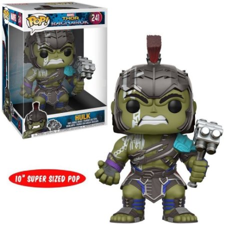 Funko Pop Thor Ragnarok 241 Hulk Gladiador Supersized 27cm