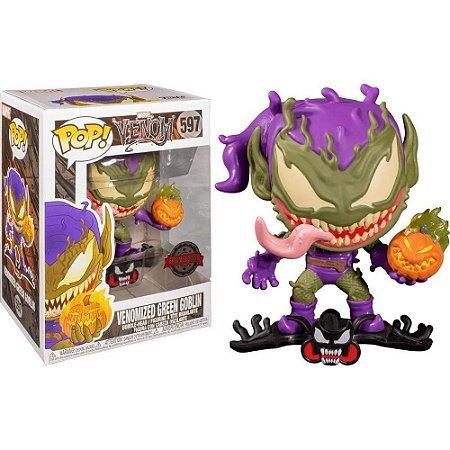 Funko Pop Venom 597 Venomized Green Goblin Exclusive