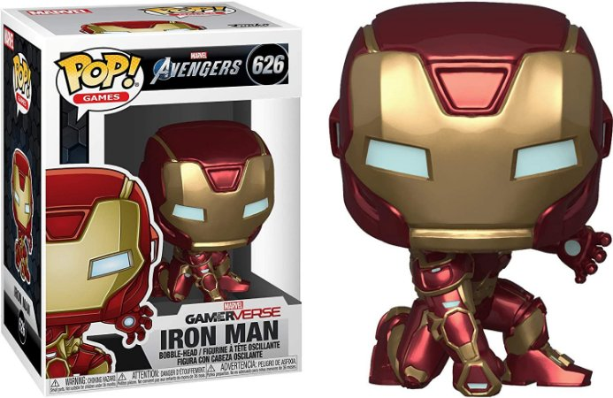 Funko Pop Avengers GameVerse 626 Iron Man Tech Suit