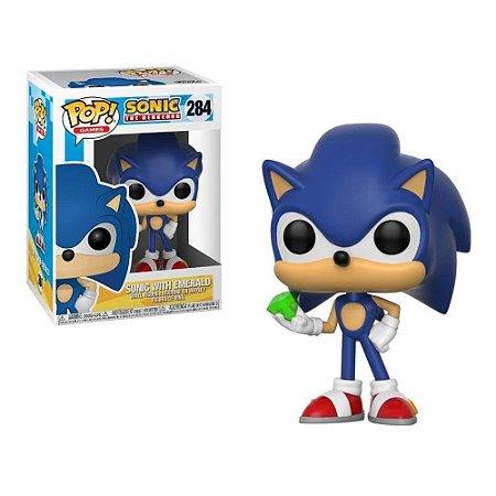 Funko Pop Sonic 284 Sonic With Esmerald
