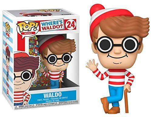 Funko Pop Where's Waldo 24 Waldo Onde esta Wally