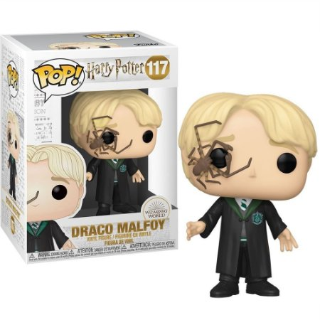 Funko Pop Harry Potter 117 Draco Malfoy w/ Whip Spider