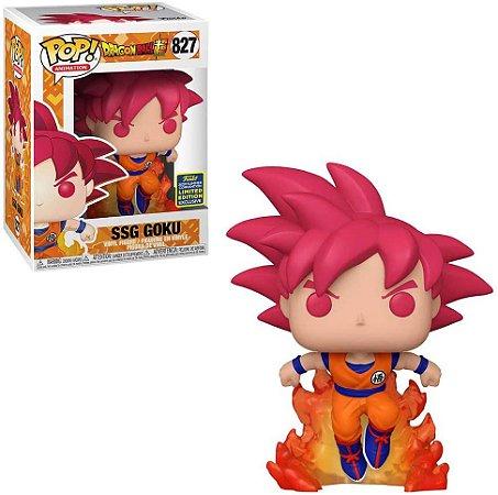 Funko Pop Dragon Ball Super 827 SSG Goku Sdcc 2020