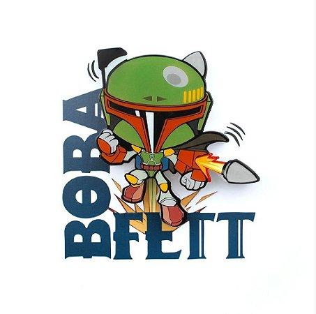 Mini Luminária 3D Light FX Star Wars Boba Fett