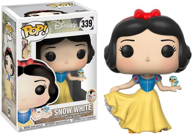 Funko Pop Disney 339 Snow White Branca De Neve