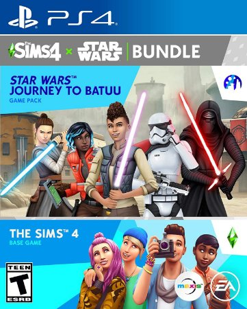The Sims 4 + Star Wars Journey to Batuu Bundle - PS4