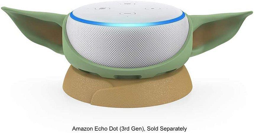 Suporte p/ Amazon Echo Dot 3rd Gen The Mandalorian Baby Yoda The Child