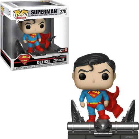 Funko Pop Dc Comics 278 Superman Jim Lee Deluxe
