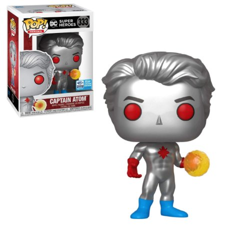 Funko Pop DC 333 Captain Atom WonderCon 2020 Limited Exclusive