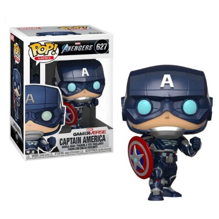 Funko Pop Marvel Avengers 627 Captain America Tech Suit