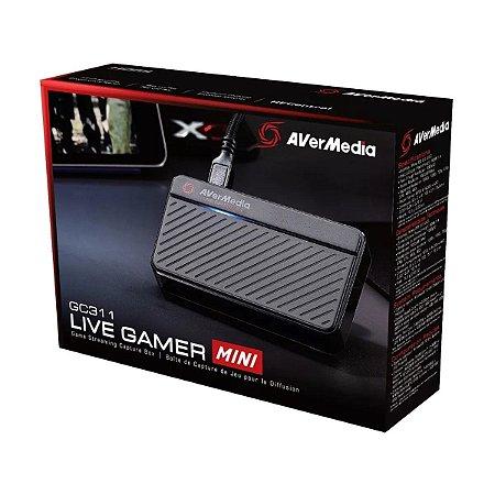 Placa De Captura Avermedia GC311 Live Gamer Mini USB 2.0