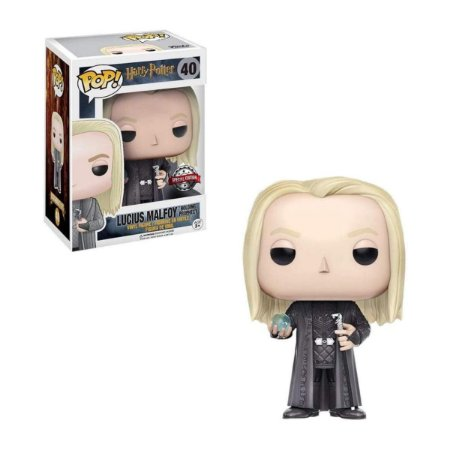 Funko Pop Harry Potter 40 Lucius Malfoy Holding Prophecy Special