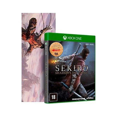 Sekiro Shadows Die Twice Edição Limitada c/ Pôster - Xbox One