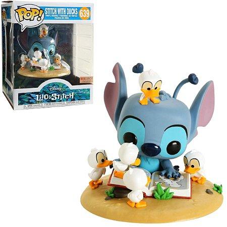 Funko Pop Disney Lilo Stitch 639 Stitch with Ducks Special Edition