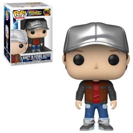 Funko Pop Back to the Future 962 Marty in Future Outfit