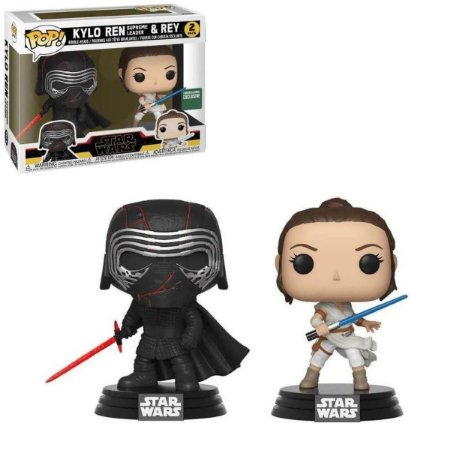 Funko Pop Star Wars Kylo Ren & Rey 2Pack