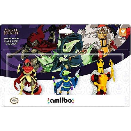 Amiibo Shovel Knight Pack 3 Amiibos Switch 3DS Wii U
