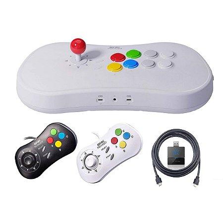 Neogeo Arcade Stick Pro Player Pack - Neo Geo Pocket