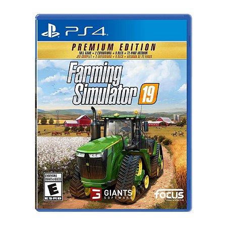 Farming Simulator 19 Premium Edition - PS4