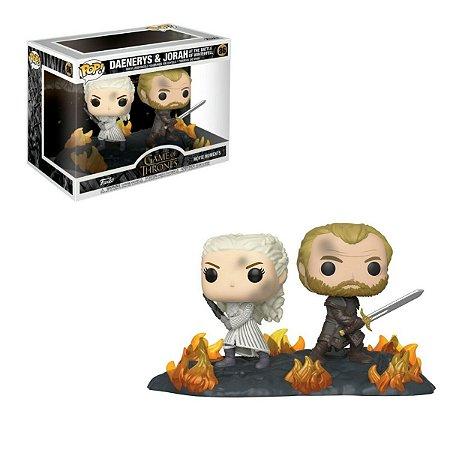 Funko Pop Game of Thrones 86 Daenerys e Jorah The Battle Of Winterfell