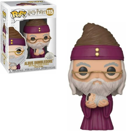Funko Pop Harry Potter 115 Albus Dumbledore w/ Baby Harry