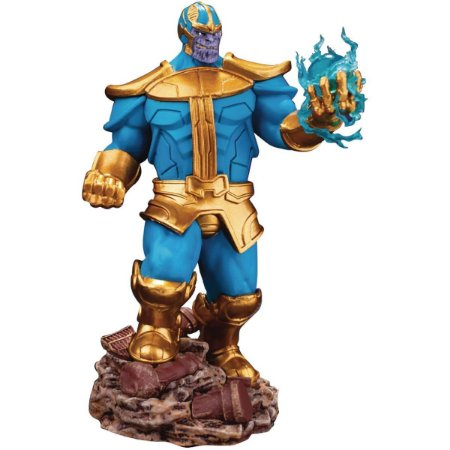 Estátua Beast Kingdom Thanos Marvel Comics Version Diorama 014SP