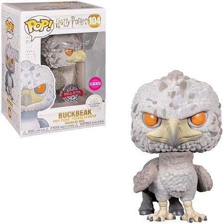 Funko Pop Harry Potter 104 Buckbeak Flocked Special Edition