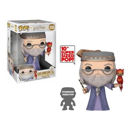 Funko Pop Harry Potter 110 Dumbledore w/ Fawkes 26cm 10""