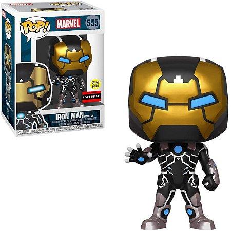 Funko Pop Marvel 555 Iron Man Model 39 GITD Special Edition