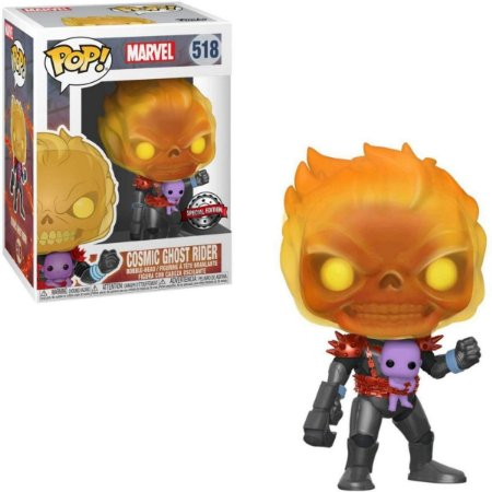 Funko Pop Marvel 518 Cosmic Ghost Rider w/ Baby Thanos Special Edition