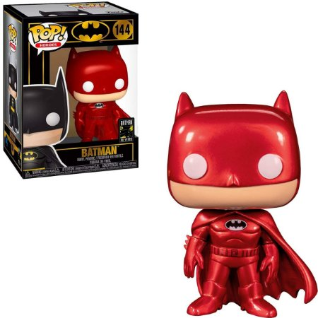 Funko Pop Batman 80 Years 144 Batman Red Metallic