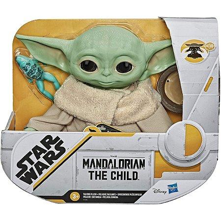 Pelúcia Falante Star Wars The Mandalorian The Child Baby Yoda