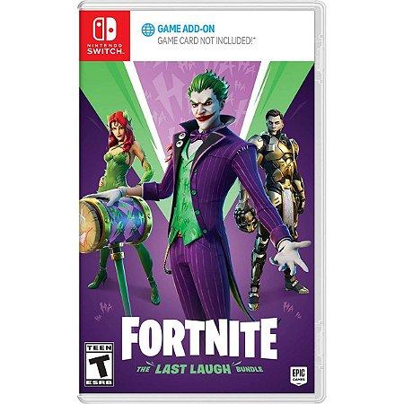 Fortnite The Last Laugh Bundle - Switch