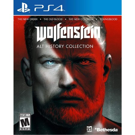 Wolfenstein The Alternative History Collection - PS4