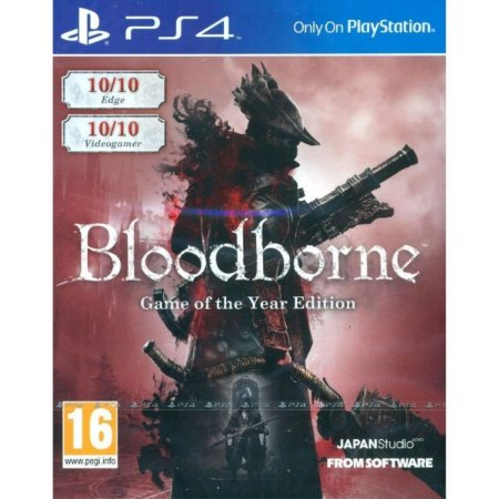 Bloodborne Game Of The Year Edition - Ps4