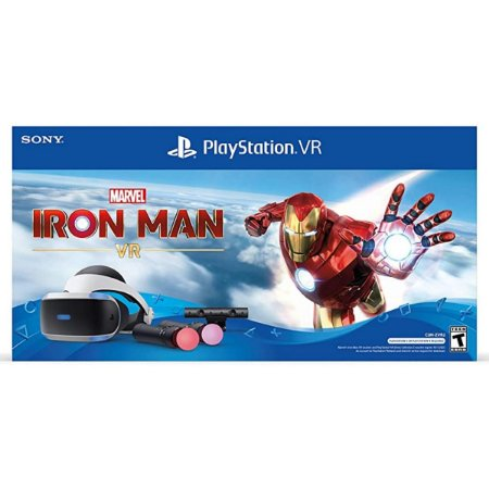 Playstation Vr Marvel Iron Man Zvr2 Bundle - PS4