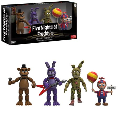 Funko Five Nights at Freddy's Pack - Freddy, Bonnie, Springtrap & Balloon Boy (Set 2)