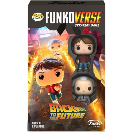 Funko Pop Funkoverse Back to the Future Marty & Emmet
