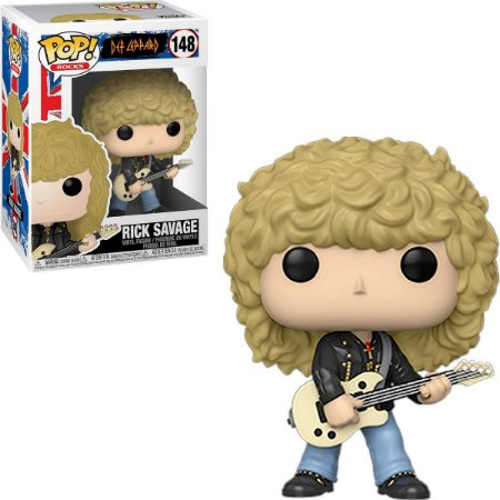 Funko Pop Def Leppard 148 Rick Savage