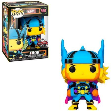Funko Pop Marvel 650 Thor Black Light
