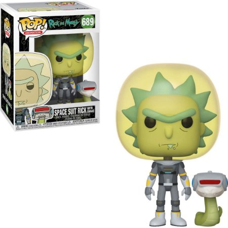 Funko Pop Rick And Morty 689 Rick Space w/ Snake
