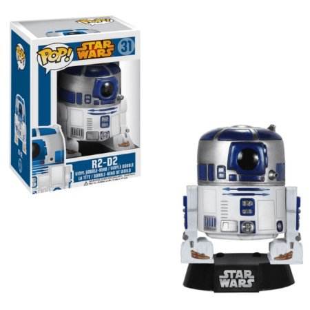Funko Pop Star Wars 31 R2-D2 R2d2