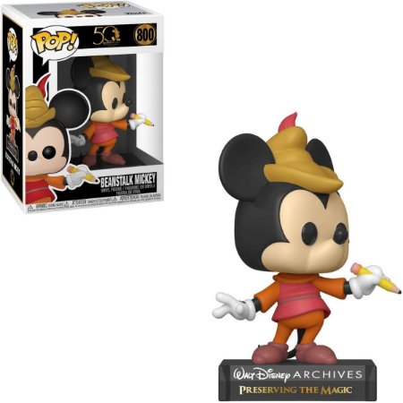 Funko Pop 50th Walt Disney Archives 800 Beanstalk Mickey